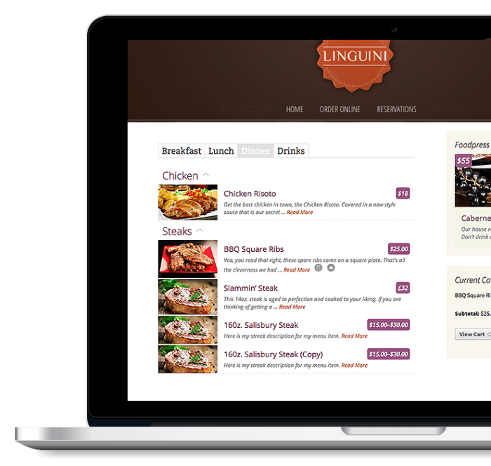 online-ordering-restaurant-website