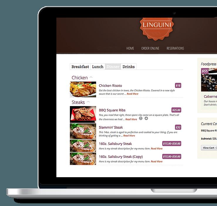 Online Ordering - Restaurant Website